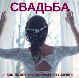 Свадьба: как распределить деньги, чтобы на все хватило #свадьбамоеймечты